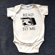 Read to me onesie